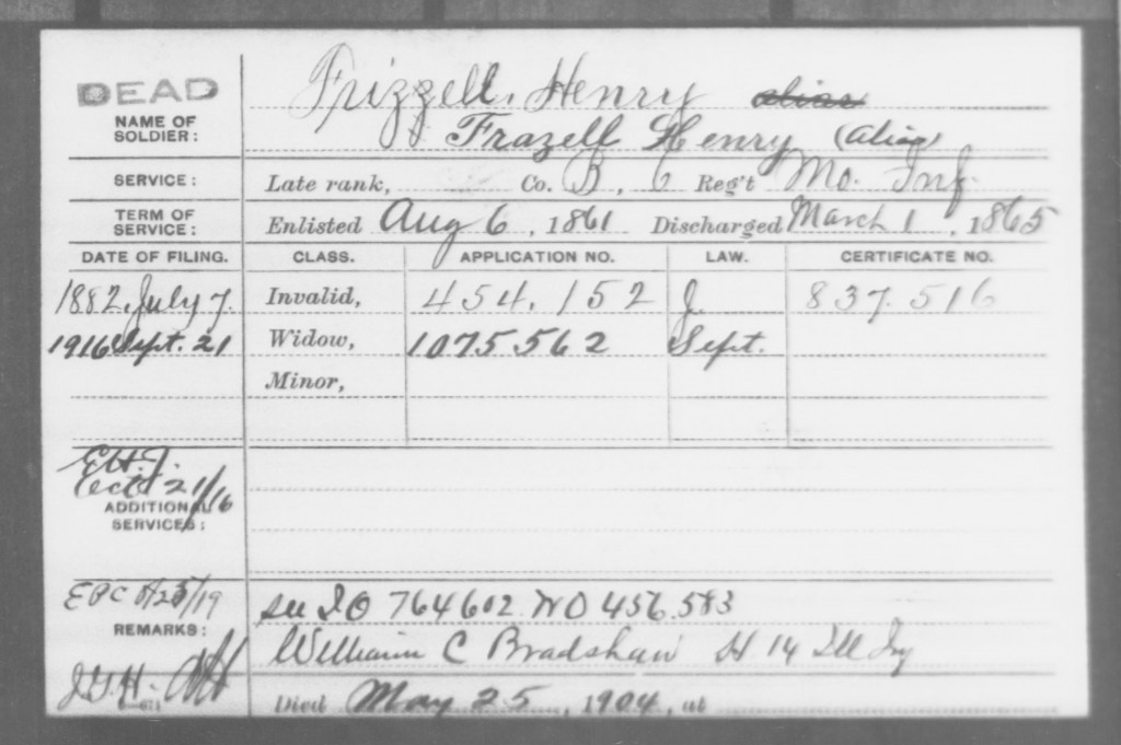 Frizzell, Henry